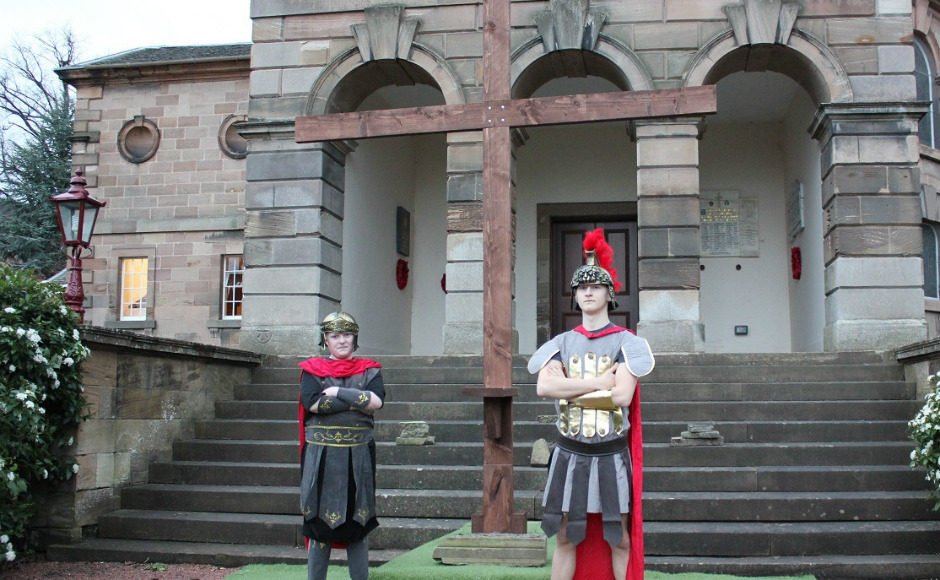Hamilton Passion Play Roman Soldiers
