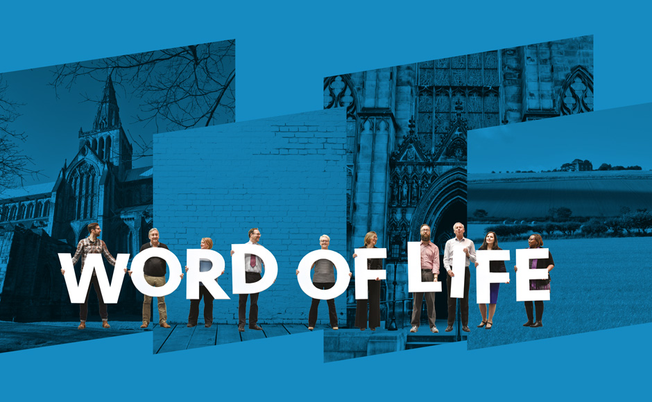 Blue Book Cover: Word of Life
