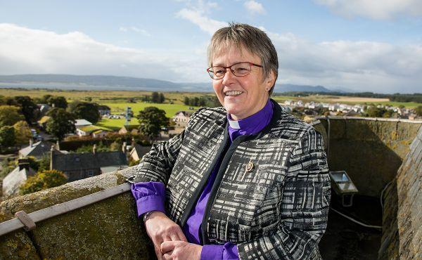 The Moderator, Rt Rev Susan Brown
