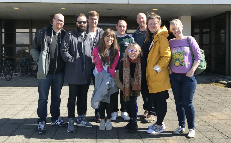 A group from St Paul's in Glasgow on exchange to Iceland