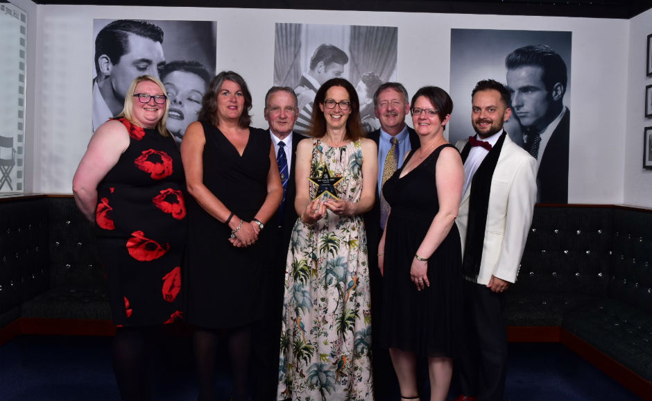 The Bridge of Don Remembers team at the Star Awards