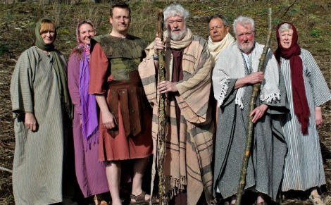 The cast of Drama Kirk