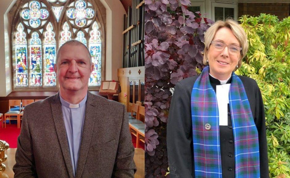 Rev Dr David Hume and Rev Beverley Stevenson