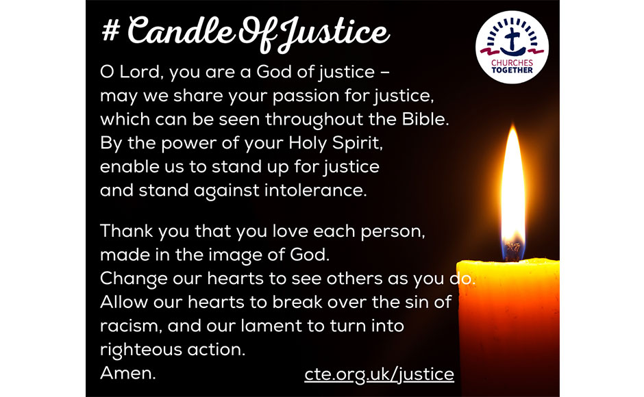 Candle of Justice prayer