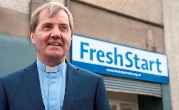 Very Rev Dr Russell Barr at Fresh Start