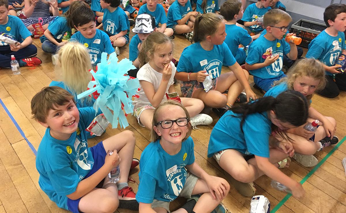 Barrhead children at the annual summer club