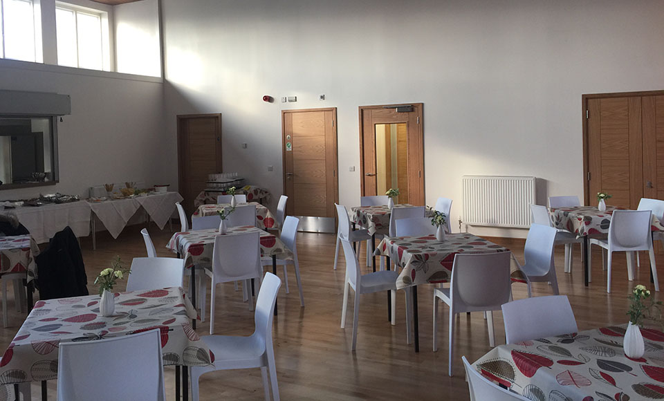 The new cafe at Mayfield and Easthouses Church