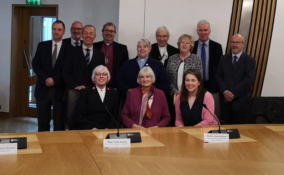 Church leaders in parliament