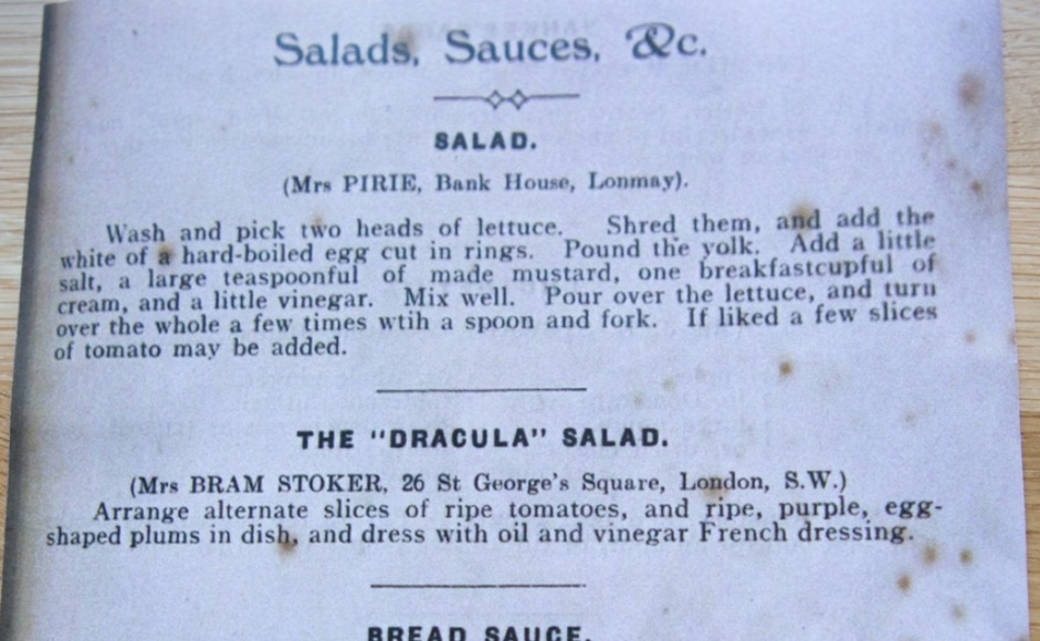 Dracula Salad recipe