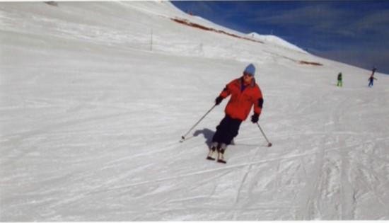 Skier George Stewart
