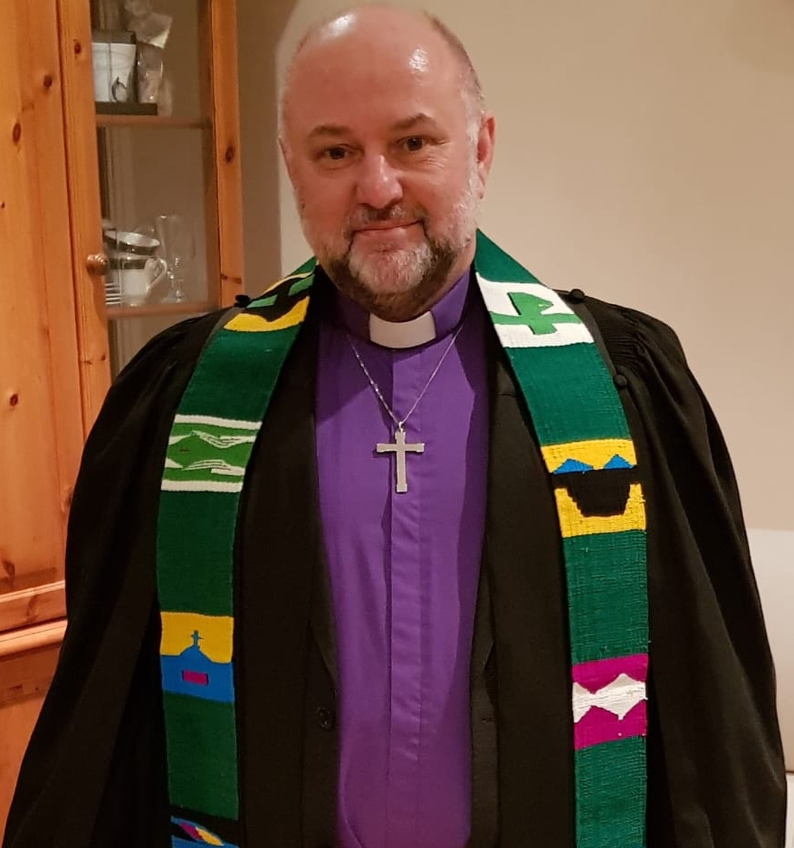 Rev Carl Irvine, the minister at Inverurie St Andrew's Parish Church in Aberdeenshire