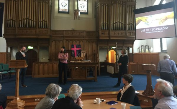 The event was held at the newly refurbished Greyfriars Kirk in Lanark