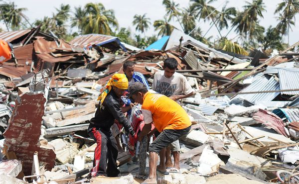 Church prays and supports aid efforts in Indonesia