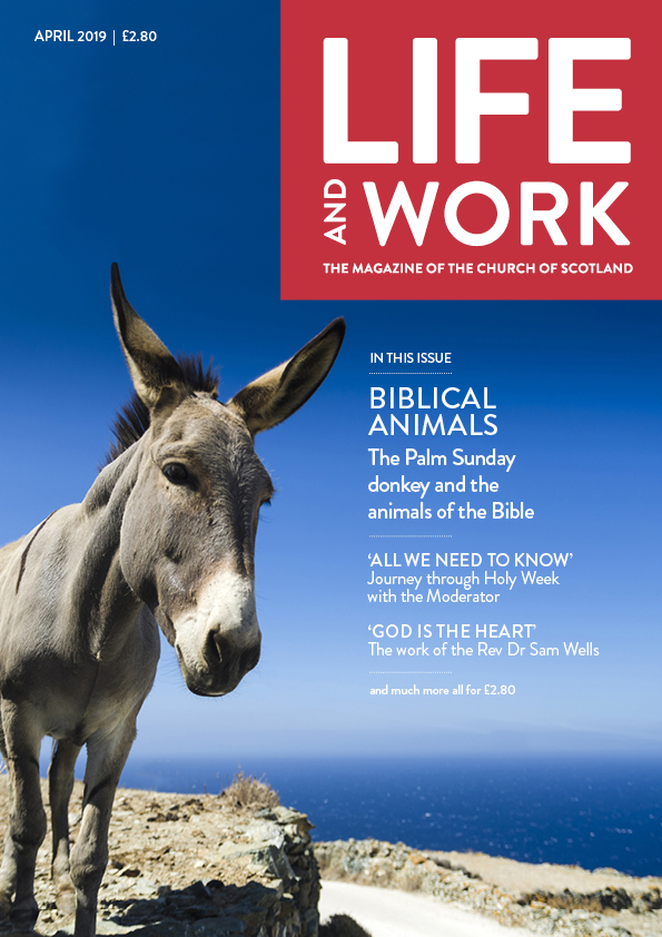 Life and Work April 2019 cover