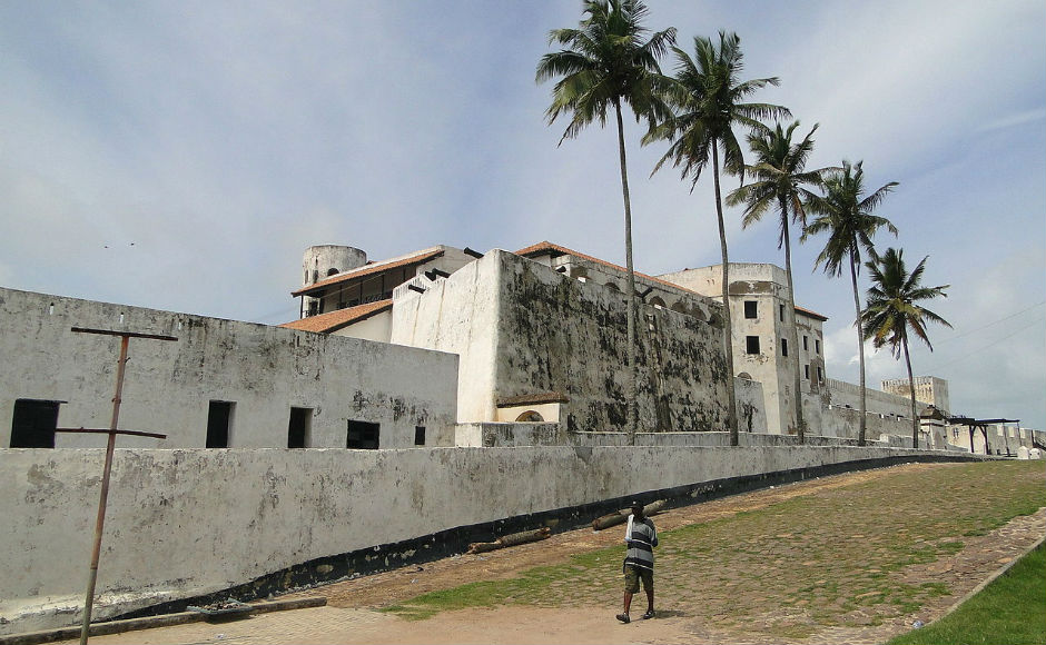 Elmina Castle was at the centre of the slave trade for hundreds of years. Photo by Nkansahrexford