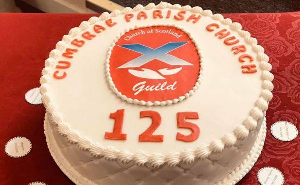 Cumbrae Guild cake