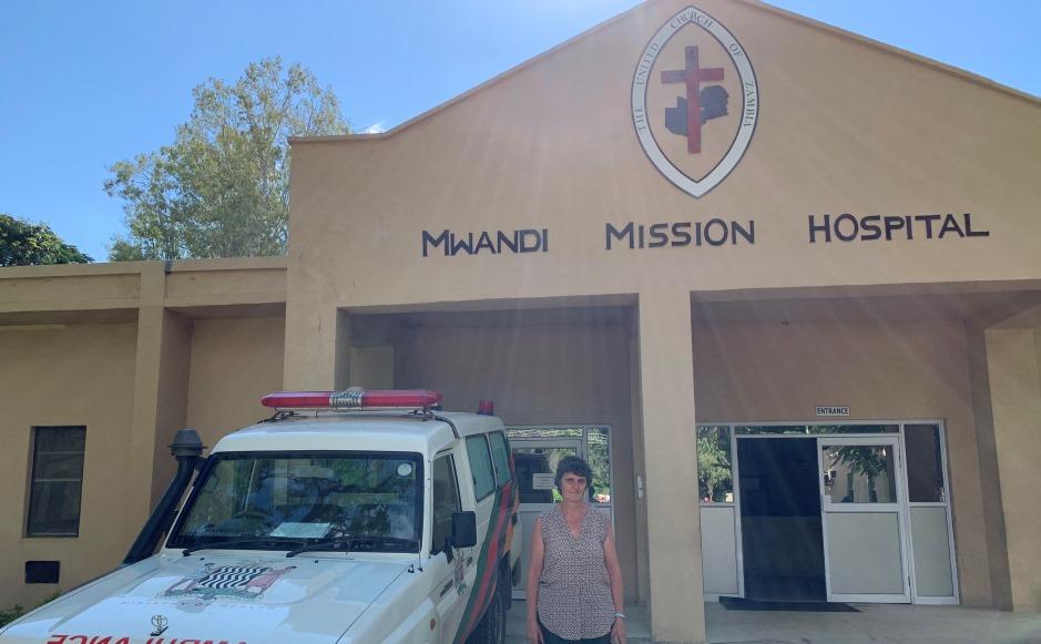 Mwandi Hospital Ida Waddell