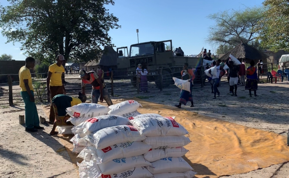 Zambia emergency food