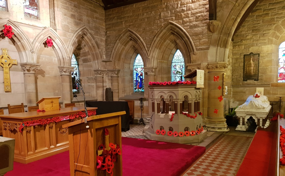 Aberlady Church inside
