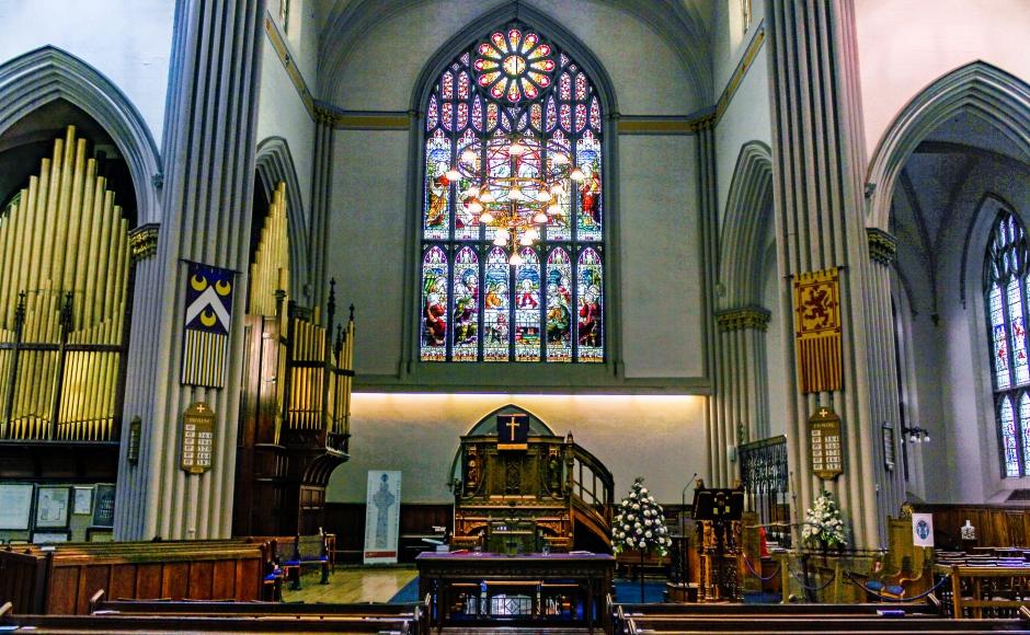 Dunfermline Abbey sanctuary