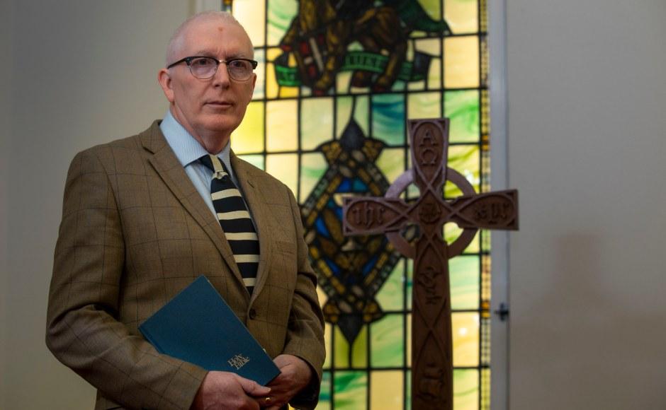 Rt Rev Dr Martin Fair in the chapel