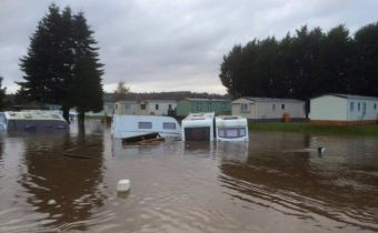 Deeside flood