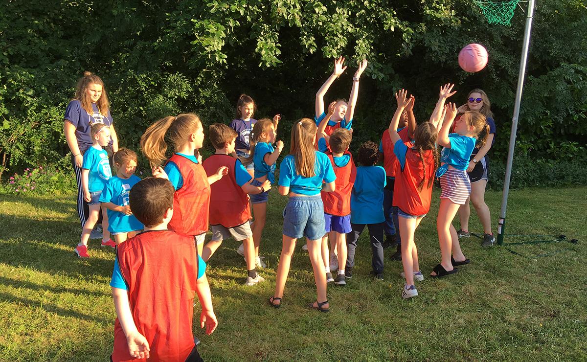 Children at Barrhead Summer Club