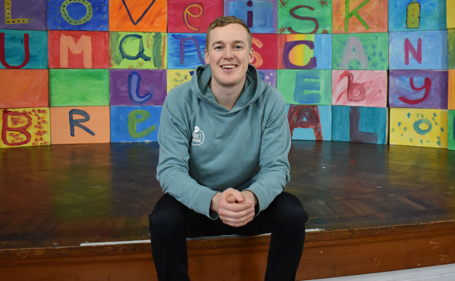 Ben Raw is the Faith In Arts worker at St Paul's Church of Scotland in Provanmill, Glasgow.