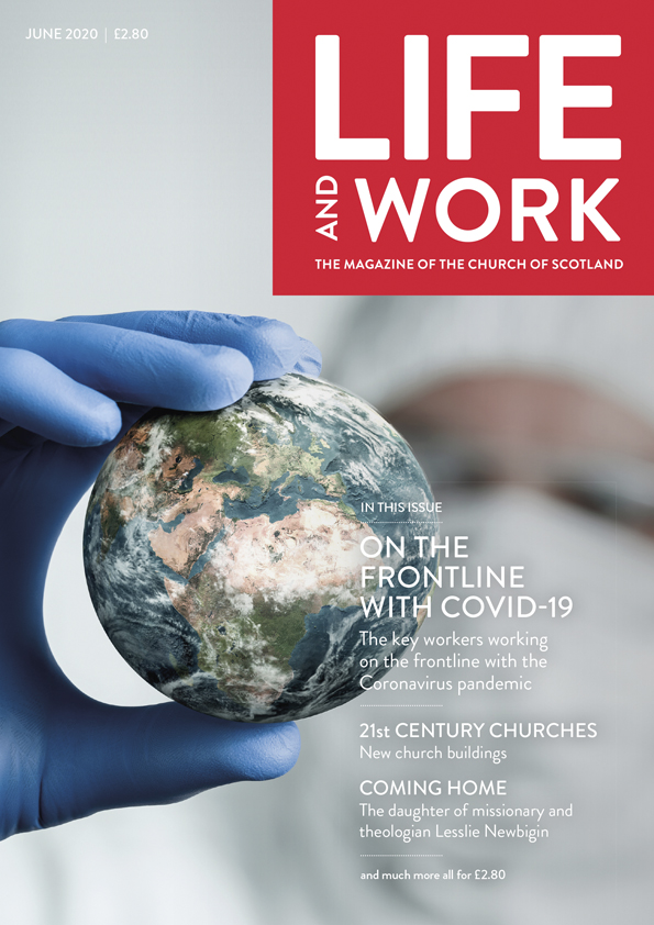 June 2020 cover of Life and Work magazine