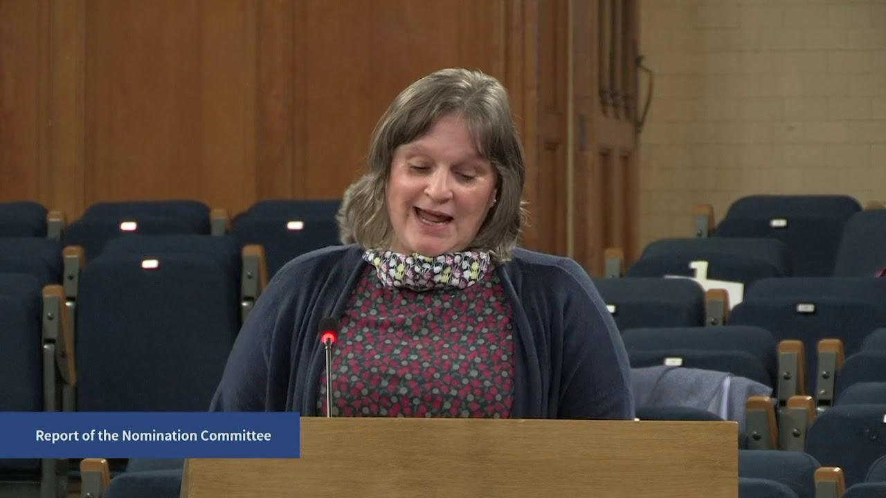 Report of the Nomination Committee - Friday, 2 Oct 2020