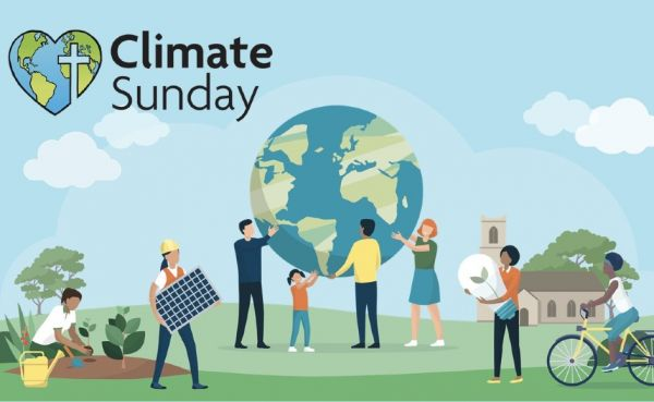 Climate Sunday graphic