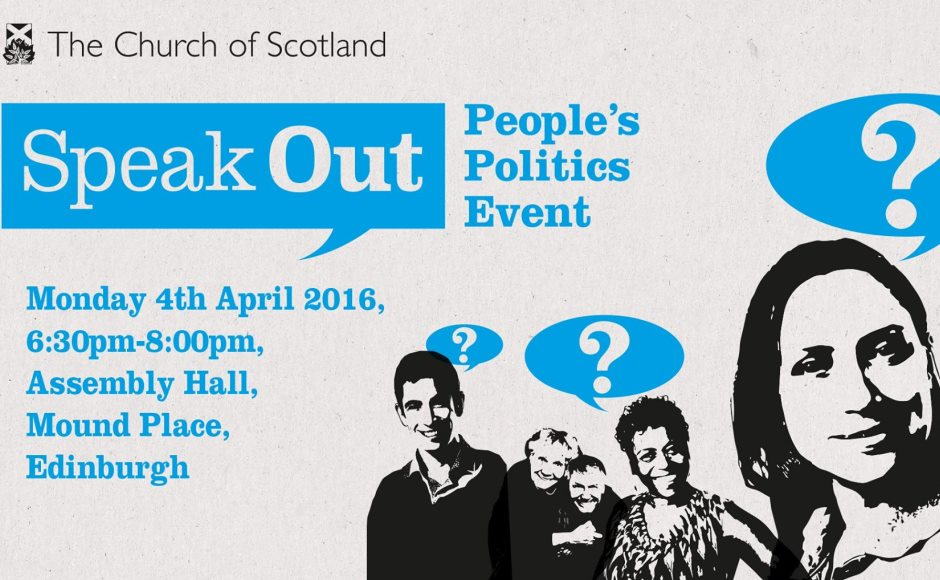 Speak Out event