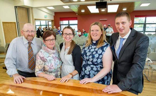 The team at Castlemilk Parish Church