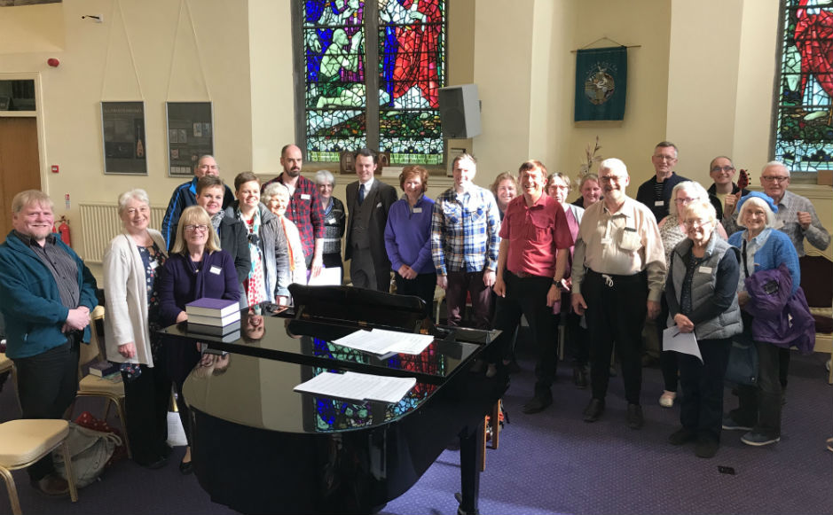 The group of organists who took part