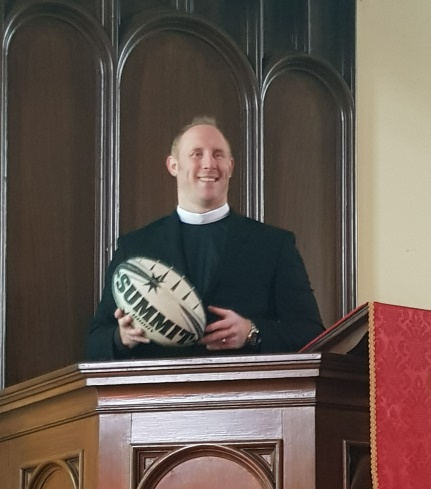 Jonny Clipston pulpit