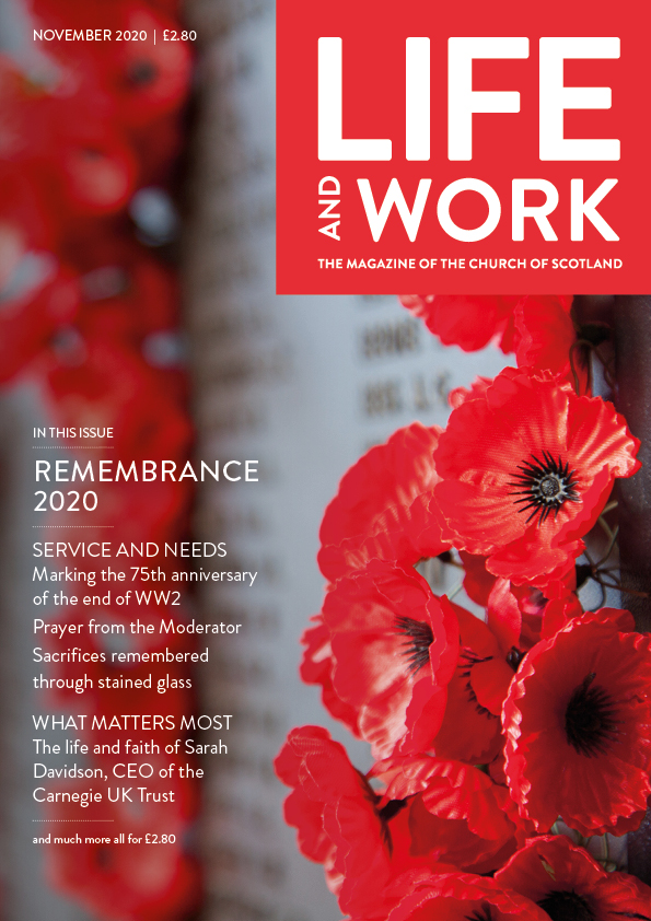 Life and Work November 2020 Cover