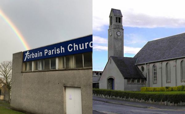 The two congregations have united to form Templehall and Torbain United Church