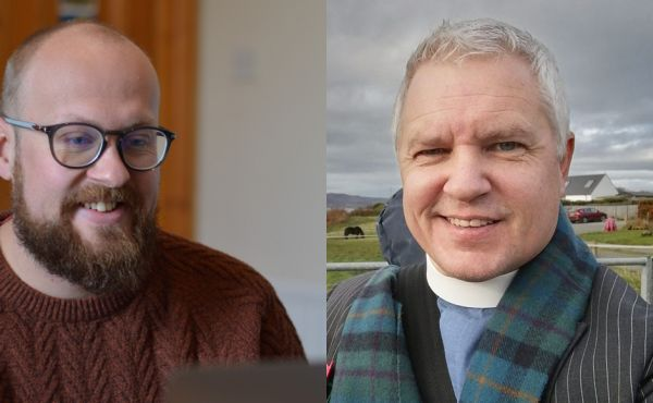 Rev Andrew Barrie and Rev Scott Burton