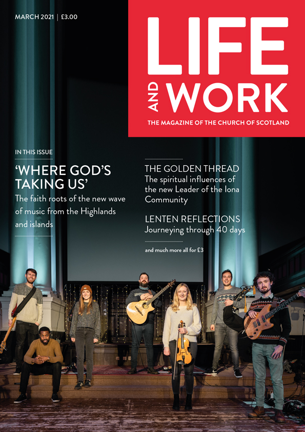 Life and Work March 2021 cover