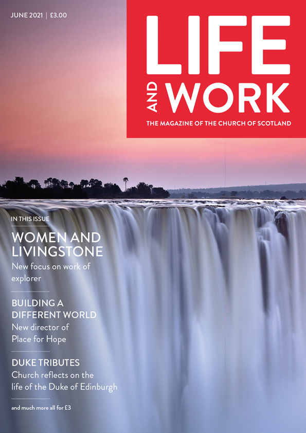 Life and Work June 2021 cover
