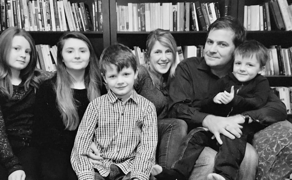 John McCulloch and family