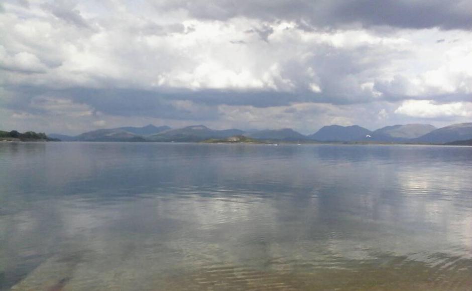 Lismore, an island lying just off Oban. Photograph taken by Dr Duncan Sneddon.