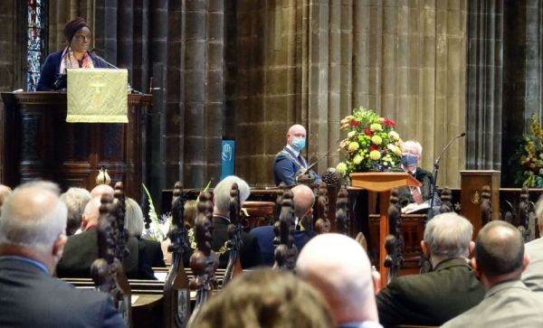 The Climate Sunday service took place at Glasgow Cathedral