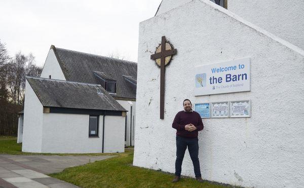 Rev Mike Robertson Barn Church Culloden