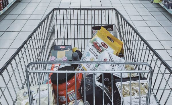 Picture of a shopping trolley