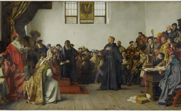 Luther Before the Diet of Worms by Anton von Werner (1843–1915)