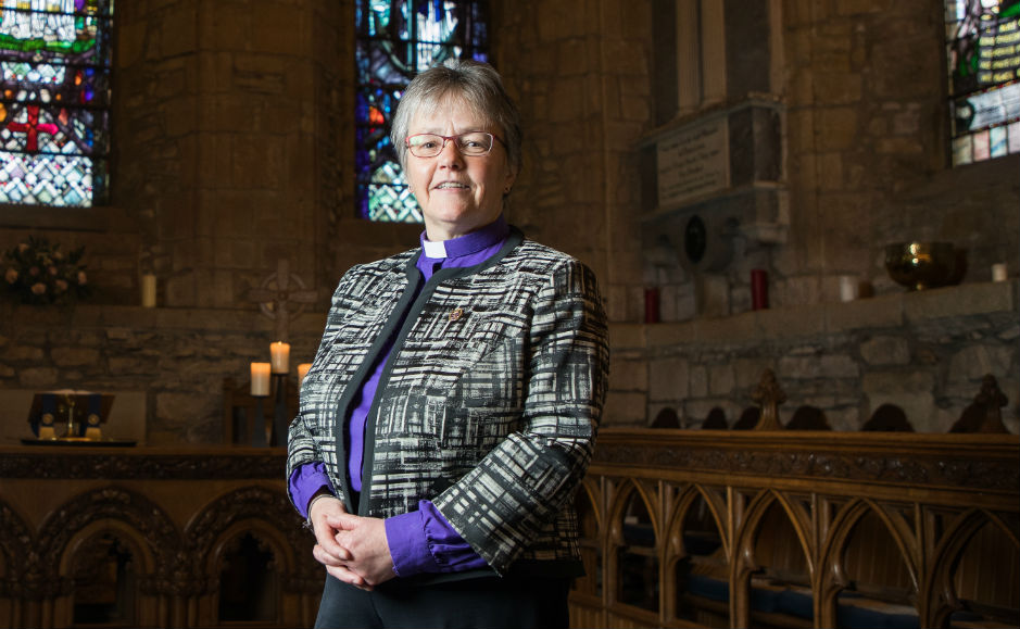 Right Rev Susan Brown, Moderator of the General Assembly of the Church of Scotland