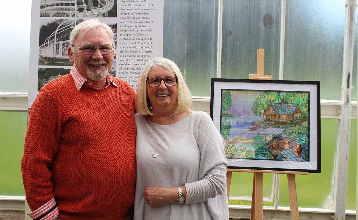 Bob Carmichael (Glasgow participant) with his wife Ann