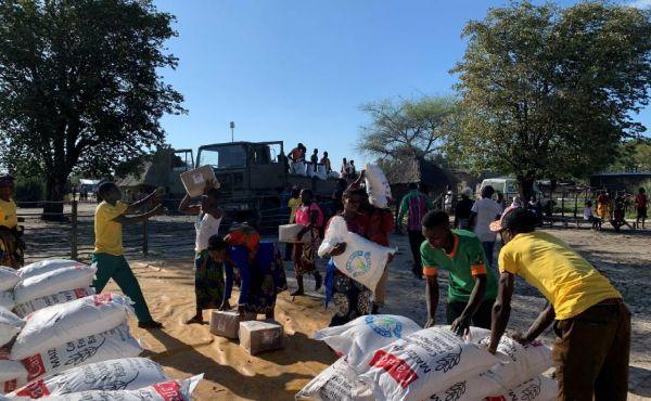 International aid in Zambia