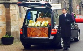Mrs Mary Logie funeral